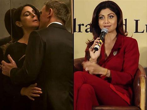 Shilpa Shetty Kiss Scene