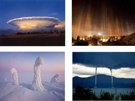 rare natural phenomena in nature