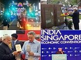 photo gallery of Narendra Modi's singapore visit 2015