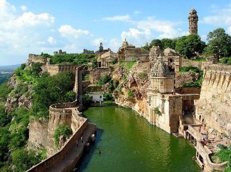 Special features of chhitorgarh fort