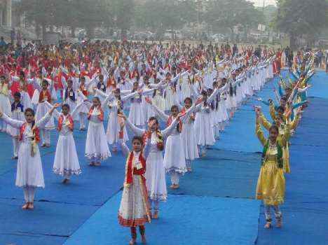 omg, its amazing, Kathak dance for world record