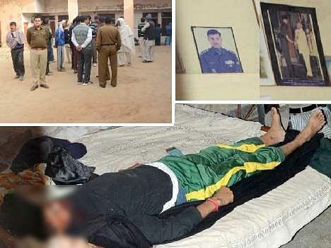 brutal murder of retired army captain in narnaul