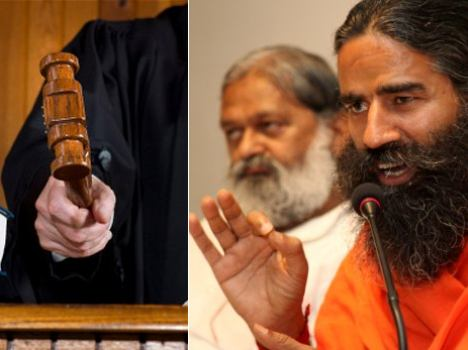 court notice to baba ramdev on honeymoon statement about rahul gandhi