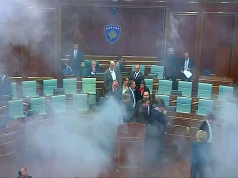 chaos in different parliament of world