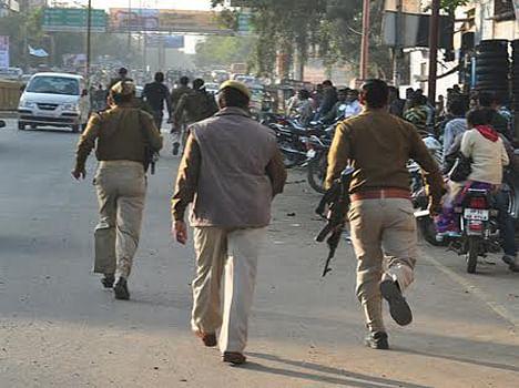muslims protest against hindu leader