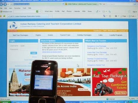 train ticket will be booked from bank website