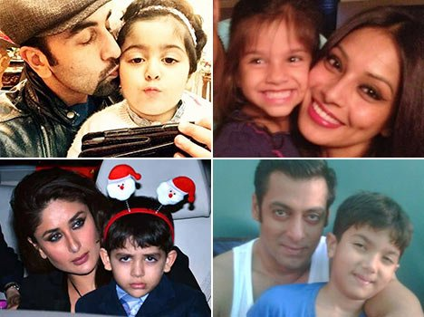 bollywood stars with their nieces and nephews