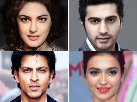 Faces of two bollywood celebrities merged into one