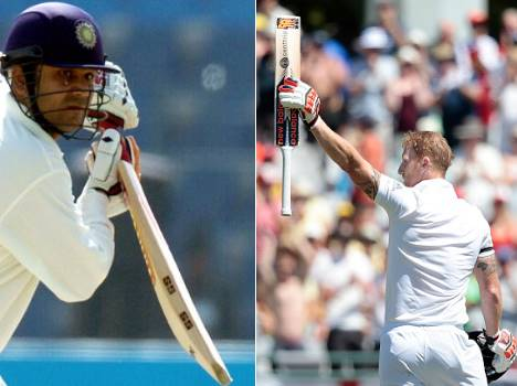 Fastest double Test hundreds within 200 balls