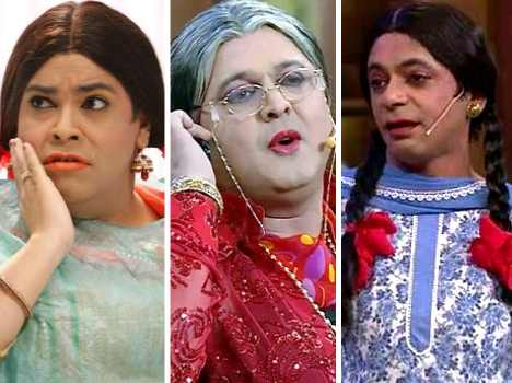 ram rahim and case against comedy nights actor gutthi, palak, and dadi