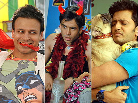 Bollywood heroes constantly doing adult comedy films