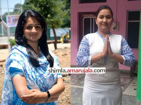 Himachali girls who won panchayat election in lowest age.