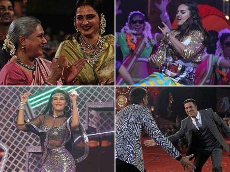 amitabh bachchan deepika padukone, ranveer singh in Screen Awards 2016