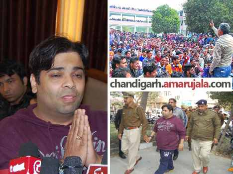 high voltage drama, palak arrested in ram rahim case and Released