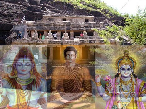 famous cave temples of India