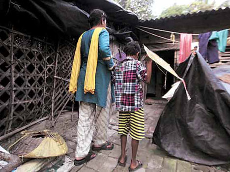 hiv positive children out of school in kolkata