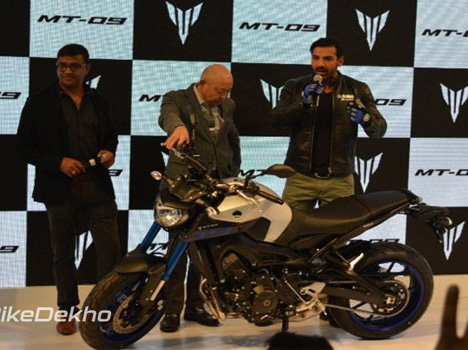 2016 Auto Expo: Yamaha Launches MT-09 at Rs. 10.2 Lac