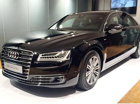 Audi launches A8 L Security at Rs. 9.15 crore