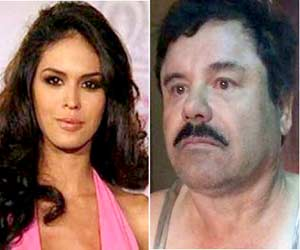 El Chapo's beauty queen lover visits drug lord in prison