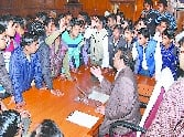 Bareilly enrolled in college to cancel protest