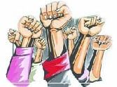 strike of Jewellers due to protest for government policy