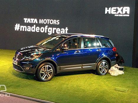 Tata Hexa revealed at the 2016 Indian Auto Expo