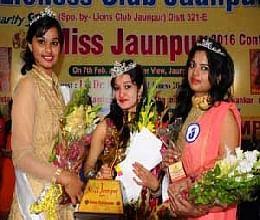 Ananya elected Miss Jaunpur