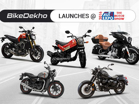 Top 5 bikes launches at Auto Expo 2106