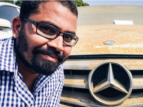 Car worth Crores sold here in thousands