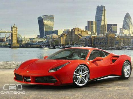 Ferrari 488 GTB Launched at Rs. 3.88 crore