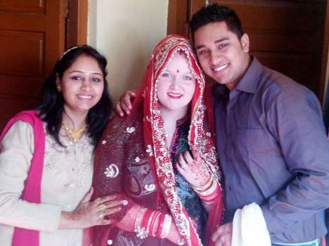 facebook love story, american girl marry to karnal boy