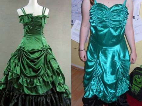 online fraud of wedding gowns