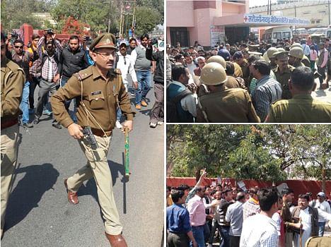 VHP leader shot down in Agra