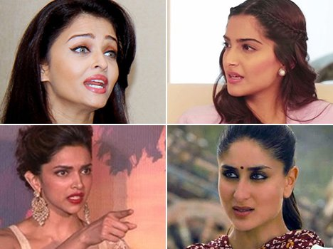 Bollywood famous catfights