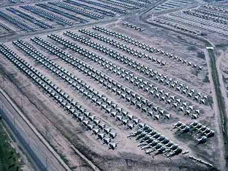 photos of us army airplane graveyard