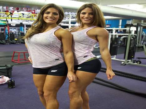twin sisters vying for toned body championship