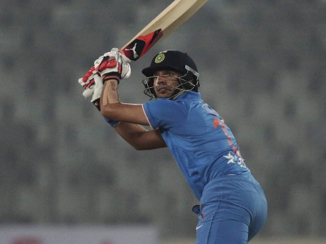 Again Big Innings by Yuvraj Singh in March month