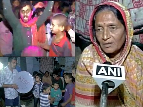 Kanhaiya released from jail, celebration at her village