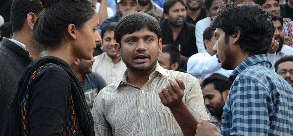 Image result for कन्हैया और उमर खालिद की पीएचडी सस्पेंड