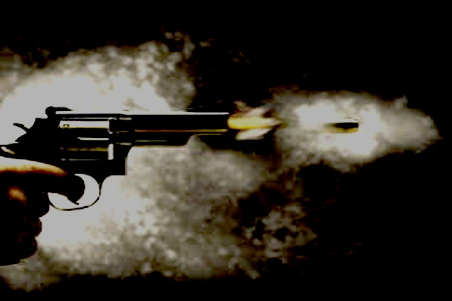 Wounded youth shot dead in Harsh firing