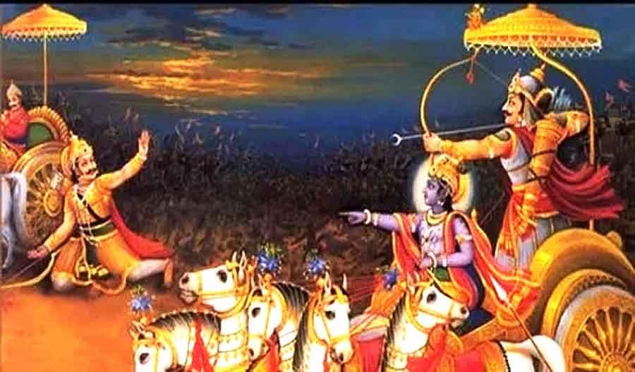 Mahabhart Karn Arjun War - कहानी महाभारत की, इन ...