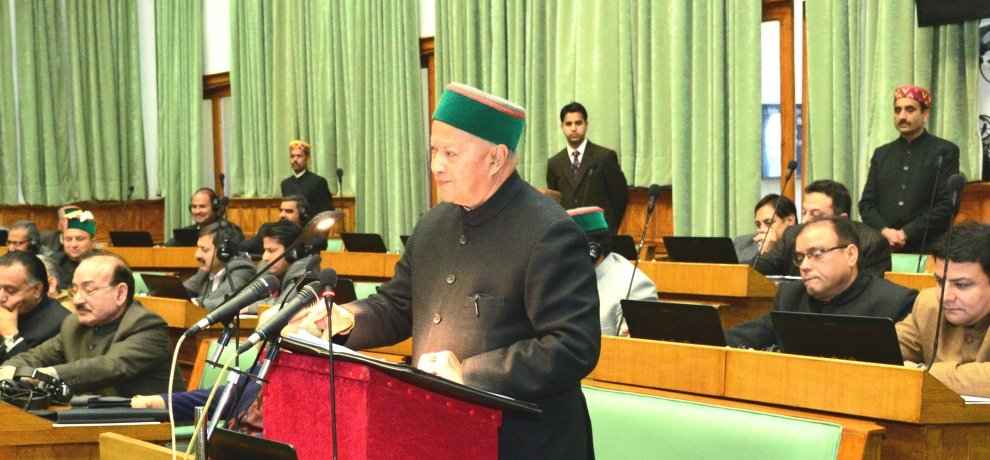 In Himachal election Virbhadra Singh left his seat for arki
