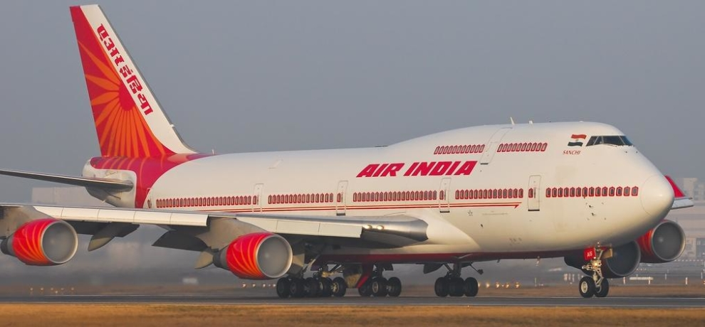 when druken women pilot reached to take off air india flight