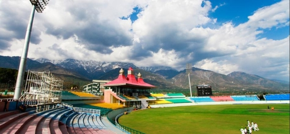 ODI Match New Zealand vs India on 16th Oct 2016 In HPCA Stadium Dharamshala