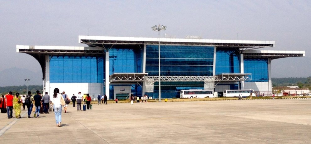 Jolly Grant Airport in Dehradun imposing big