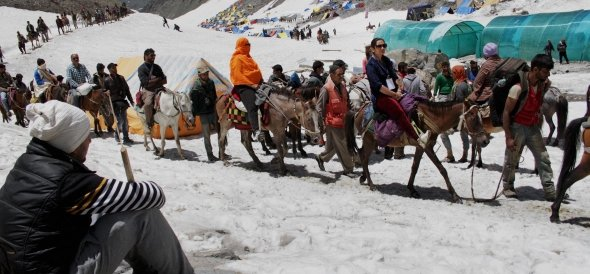 india's home ministery special arrangements for shri amarnath yatra