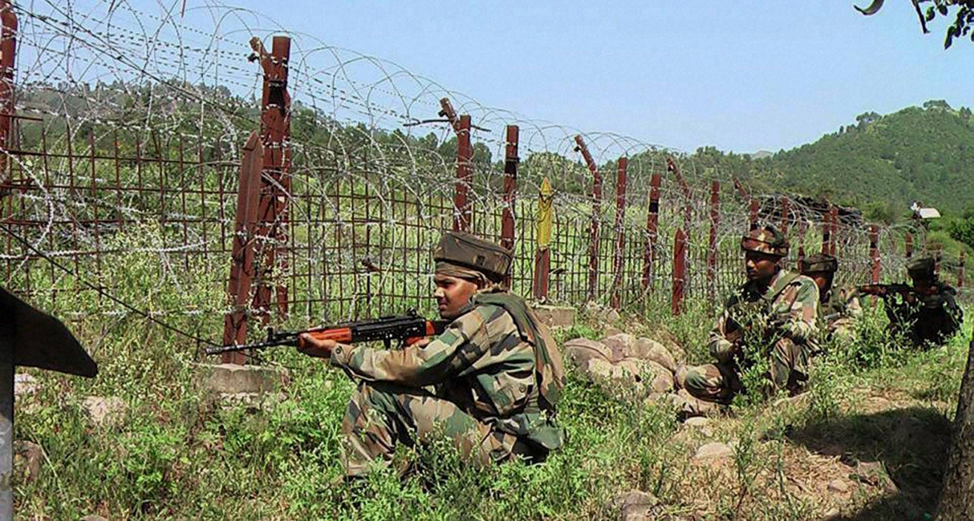 ceasefire violation by pakistan in uri sector jammu and kashmir