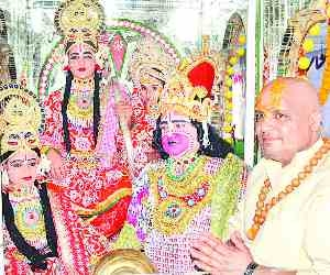 Shobhayatra brought out by the Nagas