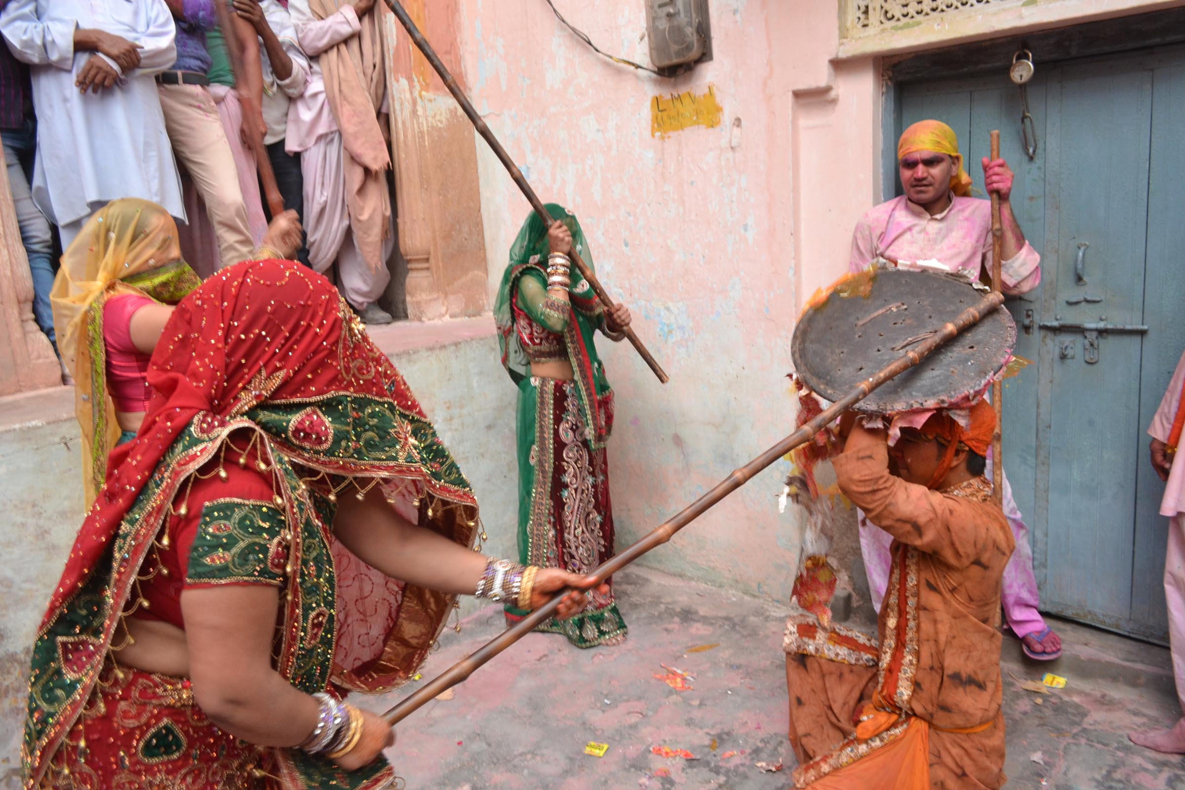 holi 2019 barsana lathmar holi celebration in 2019
