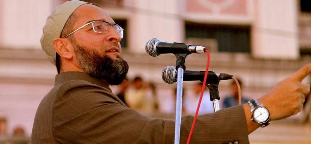 Uttar Pradesh is my patrimony, will come again repeatedly says asaduddin owaisi in Aligarh